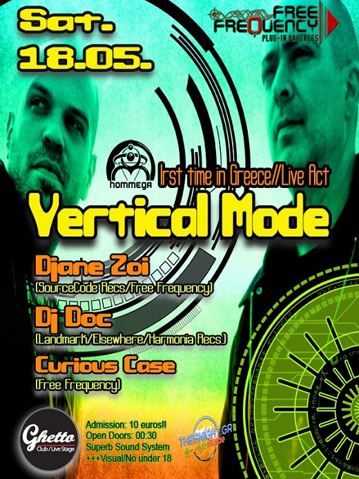 Free Frequency Presents : Vertical Mode Live Act