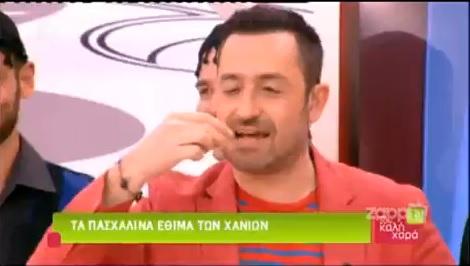 """Ο Θέμης Γεωργαντάς ξαναμέθυσε στην εορταστική εκπομπή """"Μέσα στην καλή χαρά"""""""