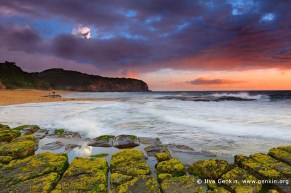 Ηλιοβασίλεμα στην Turimetta Beach  Αυστραλία