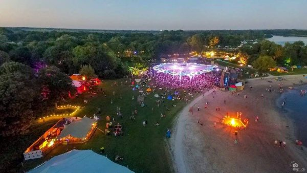 Psy-Fi Festival 2016, Holland. Photo by Skyclick.